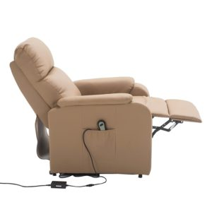 CARO-Möbel Relaxsessel SENIOR Fernsehsessel Ruhe TV Sessel mit elektrischer Aufstehfunktion
