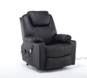 MCombo Elektrisch Aufstehhilfe Fernsehsessel Relaxsessel Massage Heizung elektrisch verstellbar USB