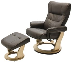 Robas Lund, Sessel, Relaxsessel, Montreal mit Hocker